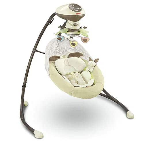 Fisher-Price Cradle n Swing Snugabunny