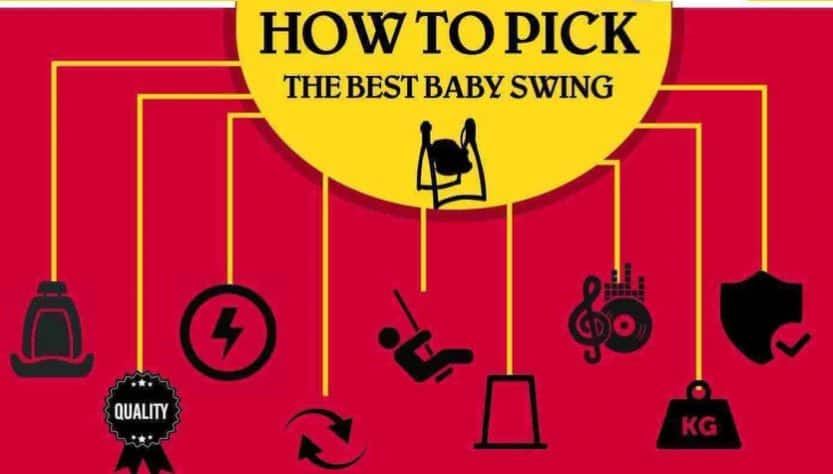 How to pick the best baby swing