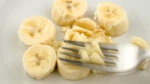 banana mashing