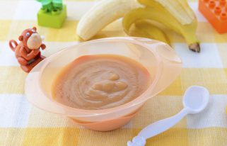 banana puree in under 5 minutes