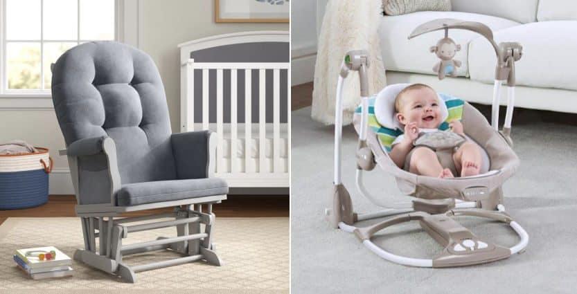 Baby Glider vs Swing