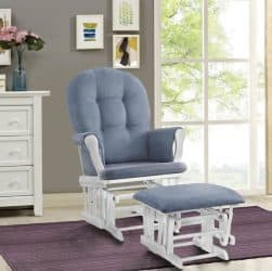 Windsor Glider and Ottoman featured