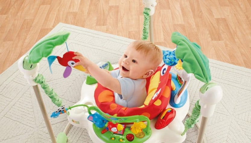 baby jumperoo age